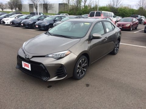 New 2017 Toyota Corolla SE 4D Sedan
