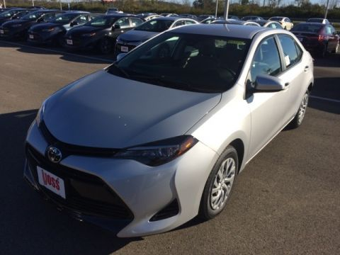 New 2018 Toyota Corolla LE 4D Sedan