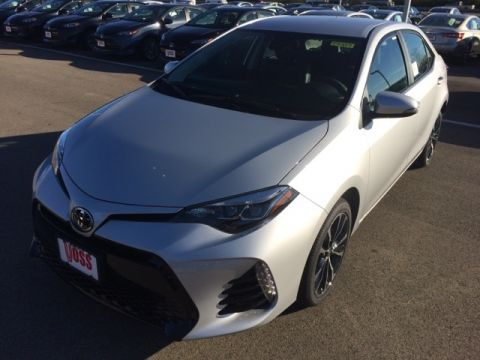New 2018 Toyota Corolla SE 4D Sedan
