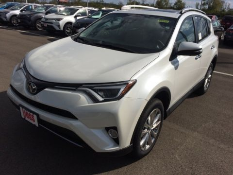 New 2018 Toyota RAV4 Limited 4D Sport Utility AWD