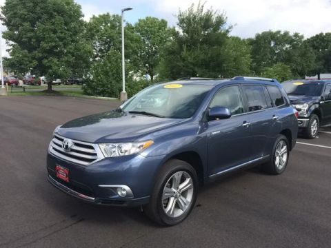 Certified Pre-Owned 2012 Toyota Highlander LTD 4D Sport Utility AWD